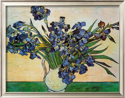 Vase of Irises, c.1890 Prints by Vincent van Gogh