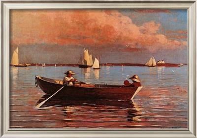 Gloucester Harbor Print by Winslow Homer