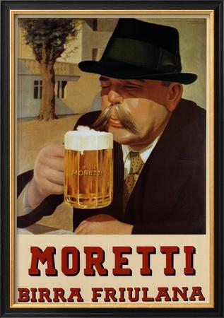 Moretti Beer Prints
