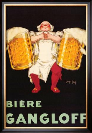 Biere Gangloff Posters by Jean D' Ylen
