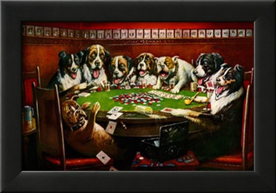 Poker Sympathy Posters by Cassius Marcellus Coolidge
