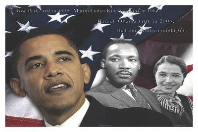 Zachary Brazdis - Barack Obama - Our Children Will Fly Poster Photo by Zachary Brazdis