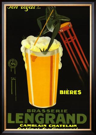 Brasserie Lengrand Print