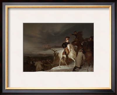 The Passage of the Delaware, c.1819 Print by Thomas Sully