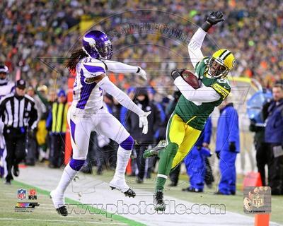 Greg Jennings 2012 Playoff Action Photo