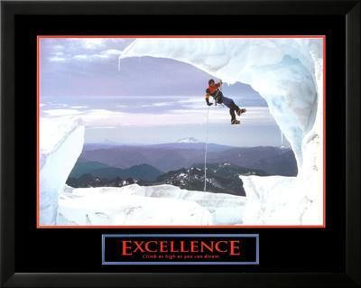 Excellence: Snow Climber Art