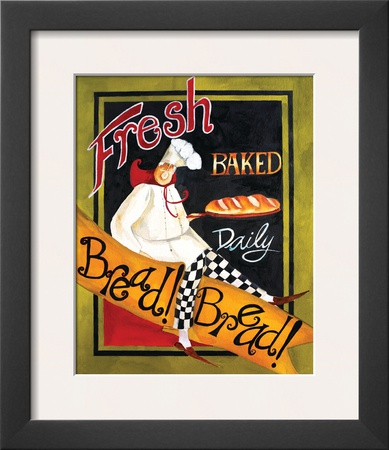 Fresh Baked Bread Print by Jennifer Garant