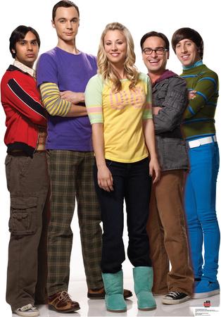 Big Bang Theory Group Lifesize Standup Cardboard Cutouts