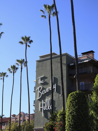 Beverly Hills Hotel, Beverly Hills, Los Angeles, California, Usa Photographic Print by Wendy Connett