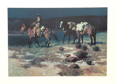 Crossing the Verde Collectable Print by James Reynolds