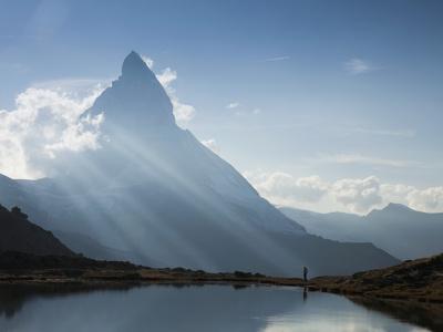 Matterhorn, Zermatt, Canton Valais, Swiss Alps, Switzerland, Europe Photographic Print by Angelo Cavalli