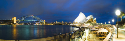 Sydney Opera House, UNESCO World Heritage Site, Harbour Bridge, Sydney Harbour, Australia Photographic Print by Matthew Williams-Ellis