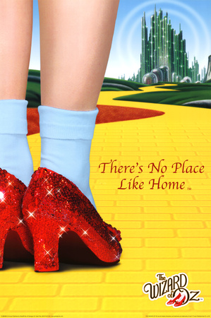 The Wizard of Oz - There's No Place Like Home Prints