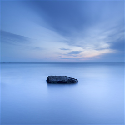 One Rock Photographic Print by Doug Chinnery