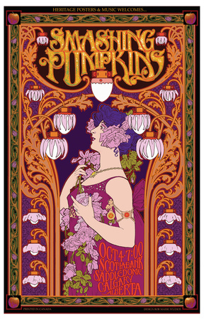 Smashing Pumpkins in Concert Prints by Bob Masse
