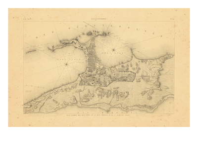 1823, Alexandie, Egypt Giclee Print
