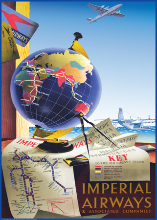 Fly Imperial Airways Prints