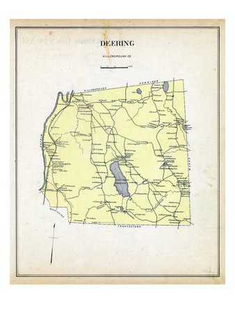 1892, Deering, New Hampshire, United States Giclee Print