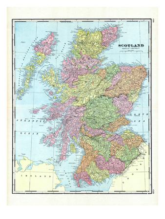 1906, United Kingdom, Europe, Scotland Giclee Print
