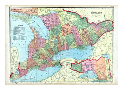 1906, Canada, Ontario, North America Giclee Print