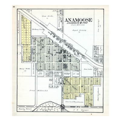 1929, Anamoose, North Dakota, United States Giclee Print