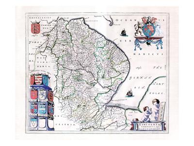 1800, England, Lincolnshire Giclee Print