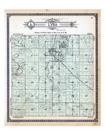 1914, Lyra Township, Minnesota, United States Giclee Print