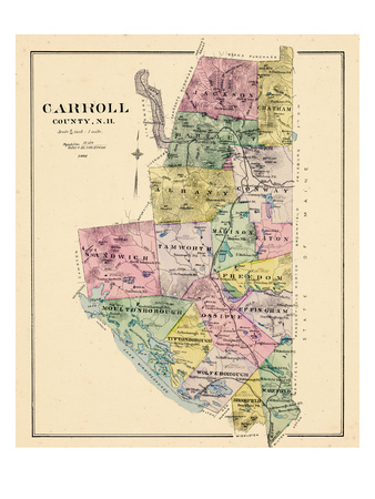 1892, Carroll County, New Hampshire, United States Giclee Print