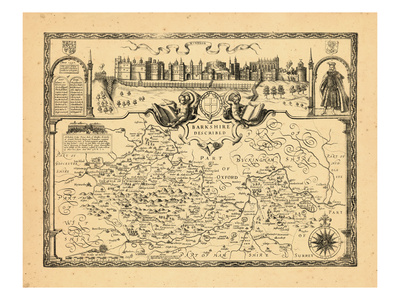 1610, Barkshire, United Kingdom Giclee Print