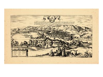1657, Spain, Bilvao Giclee Print