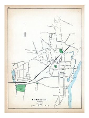1893, Stratford, Connecticut, United States Giclee Print