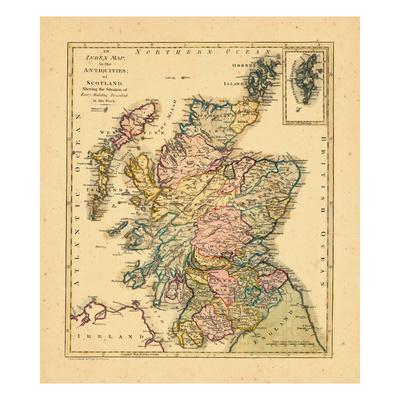 1791, Antiquities of Scotland, United Kingdom Giclee Print