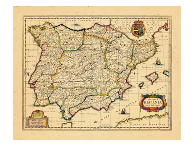 1640, Portugal, Spain Giclee Print