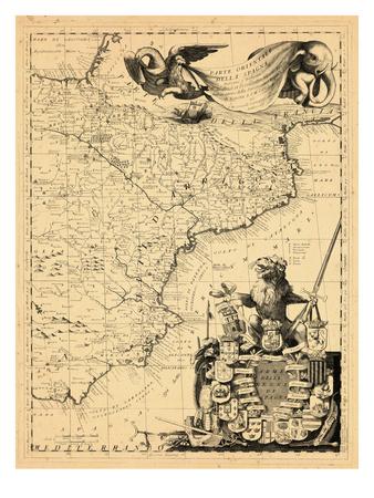 1691, Spain Giclee Print