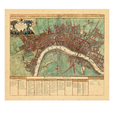 1720, London, United Kingdom Giclee Print