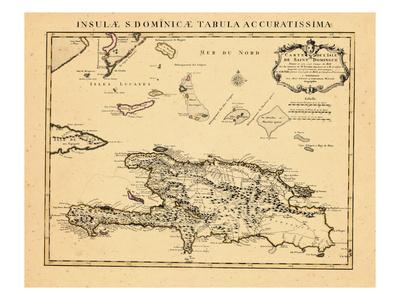1722, Dominican Republic Giclee Print