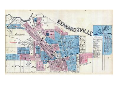 1892, Edwardsville, Le Claire, Illinois, United States Giclee Print
