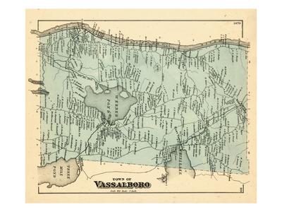 1879, Vassalboro, Maine, United States Giclee Print