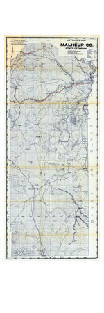 1950, Malheur County, Oregon, United States Giclee Print