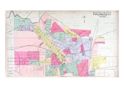 1906, Edwardsville - North, Illinois, United States Giclee Print