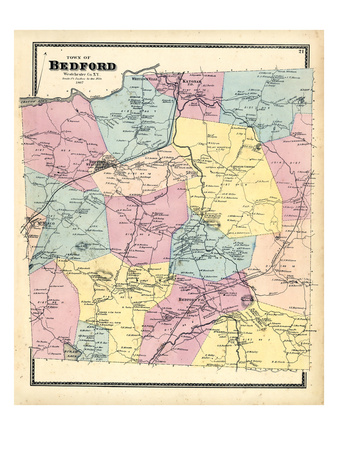 1867, Bedford, New York, United States Giclee Print