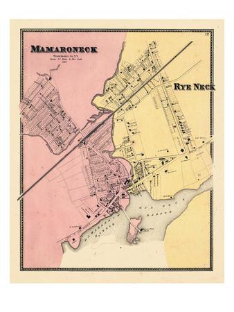 1867, Mamaroneck, Rye Neck, New York, United States Giclee Print