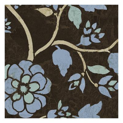 Soft Blue Blooms 9 Art by Carol Kemery