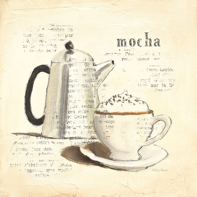 Parisian Coffee I Posters by Emily Adams