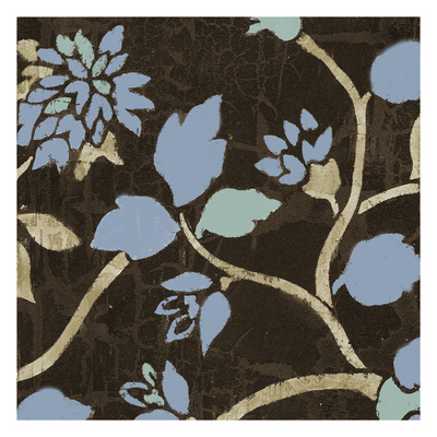 Soft Blue Blooms 1 Posters by Carol Kemery