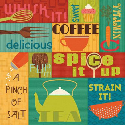 Kitchen It! I Prints by  Pela