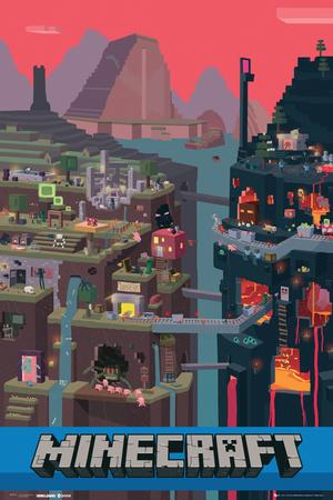 Minecraft- World Affischer