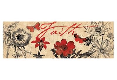 Floral Faith Prints by Jace Grey