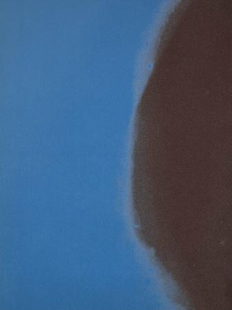 Shadows II, 1979 (blue) Art by Andy Warhol