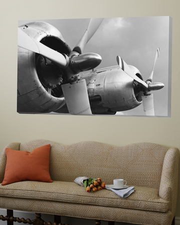 Constellation Props & Nacelles from the Vintage Aircraft Series Prints by Gordon Osmundson